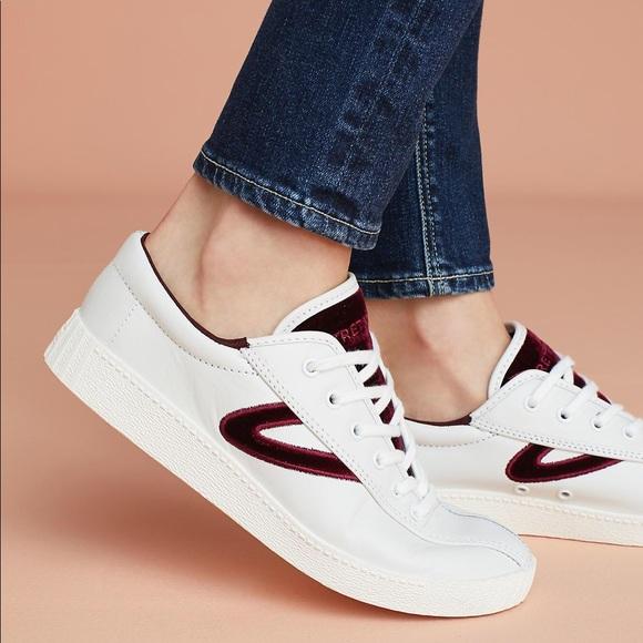 Tretorn Nylite Plus Velvet Check Sneakers
